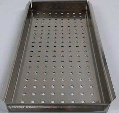 $48.75 • Buy New Ritter Midmark M9 Small Tray Stainless Ultraclave Autoclave Sterilizer Tray