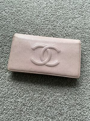 AU450 • Buy Pre Loved Chanel Wallet Pink Caviar