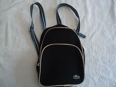 Lacoste - Black Small Rucksack /backpack- Cost £75 - New • 29.99£