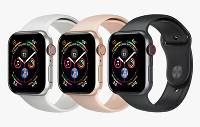 $ CDN409.64 • Buy Apple Watch Series 4 🍎 40 - 44mm Band WiFi + GPS / Cellular ⌚ IPhone Smartwatch