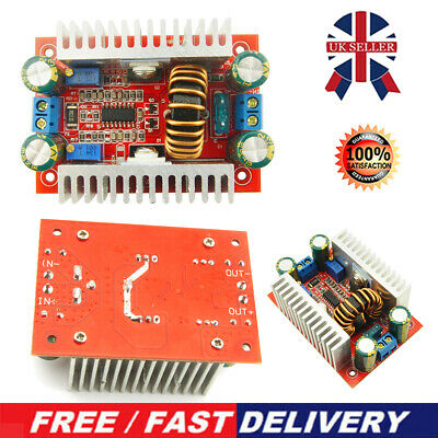 £7.69 • Buy 400W 15A DC-DC Step Up Down Boost Buck Voltage Power Converter Module Supply UK
