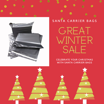 50 MIX MAILING POSTAL GREY BAGS MIXED PARCEL PACKAGING 12 X 16 And 10 X 14  • 3.75£