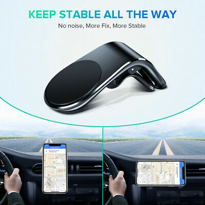Magnetic Mobile Phone Holder In Car Air Vent Bracket Mount For Auto Accessories • 3.95£