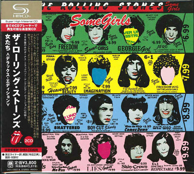 The Rolling Stones-some Girls [deluxe Edition]-japan 2 Shm-cd Bonus Track I50 • 39.41£