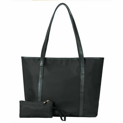 Women Shoulder Bag Tote Large Handbag Office Lady Bags Leather Travel Messenger • 9.99£