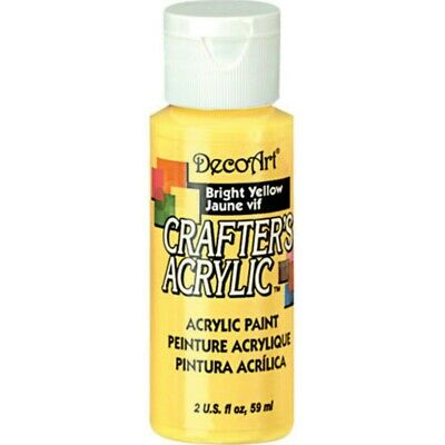 Paint Crafters Acrylic Bright Yellow  2oz • 1.80£