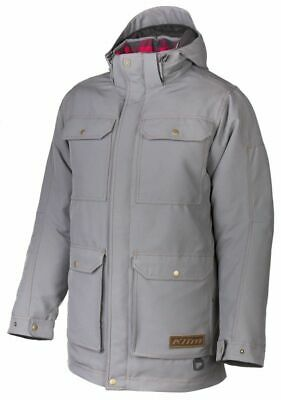 $ CDN391.01 • Buy Klim Tundra Parka Snowmobile Jacket Gray Mens All Sizes