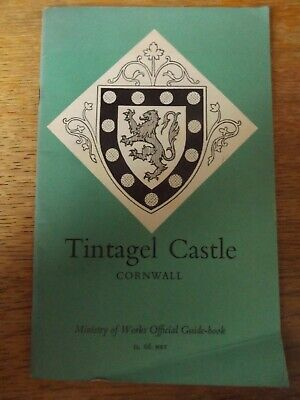 Tintagel Castle Cornwall Ministry Of Works Official Guide Book 1958  Paperback • 3.99£
