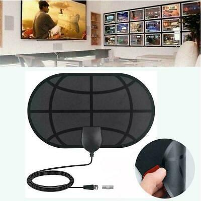 980 Mile Indoor Digital TV Antenna Aerial Signal Amplified HDTV Freeview HD Z0J7 • 3.38£