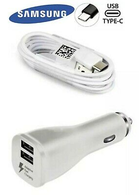 $ CDN10.91 • Buy Authentic Samsung Fast Car Charger & 4Ft Type-C Cable For Galaxy Note9 S8 S9 S10
