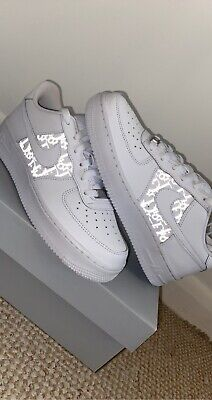 Custom Air Force 1 Trainers (Read Description) MADE BY KITSON • 115£