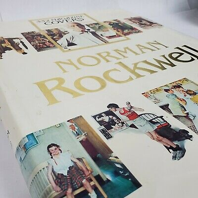 $ CDN62.70 • Buy HUGE Oversize Norman Rockwell's 332 Magazine Covers By Finch 1979 Hardcover Book