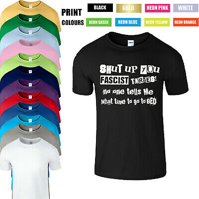Shutup You Fascist Tories Rik Young Ones Myall Funny Gifts Mens T-Shirt S-5XL • 11.99£