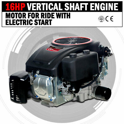 AU580 • Buy NEW 16HP Vertical Shaft Petrol Engine Ride On Mower Motor With Electric Start