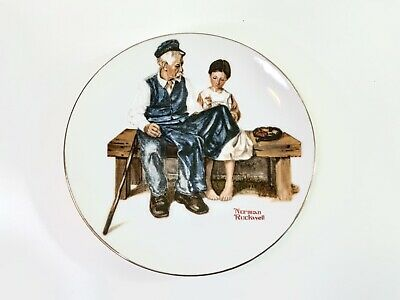 $ CDN12.55 • Buy Norman Rockwell Series Collectors Plate 1982 - The Lighthouse Keeper's Daughter
