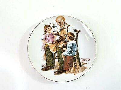 $ CDN12.98 • Buy Norman Rockwell Series Collectors Plate 1982 - The Toymaker