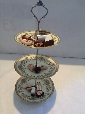 £2.95 • Buy 2/3 Tier Cake Stand Centre Rod Handle Fittings Cupcake Muffin Plate Stand Fixing