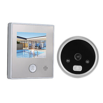 1.3MP Peephole Door Camera 2.8 Inch Color LCD Screen Monitor Video Door Z5K9 • 20.66£