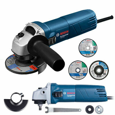 4  Variable Speed Angle Grinder Electric Polisher Grinding Wheel Cut Off Tool • 75.98£
