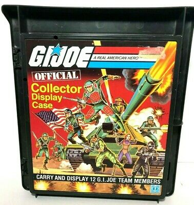 $ CDN72.34 • Buy 1982 Official GI Joe Carrying Case Lot For 12 Figures - 1 Is 100% Complete & NM