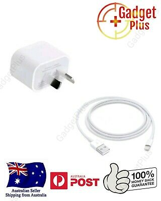 AU21.39 • Buy GENUINE Wall Charger + Lightning Cable For Apple IPhone 5 6 7 8 X XR XS AU STOCK