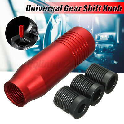 AU16.88 • Buy Universal Car Aluminum 5 6 Speed Manual Gear Shifter Stick Shift Knob Lever Red