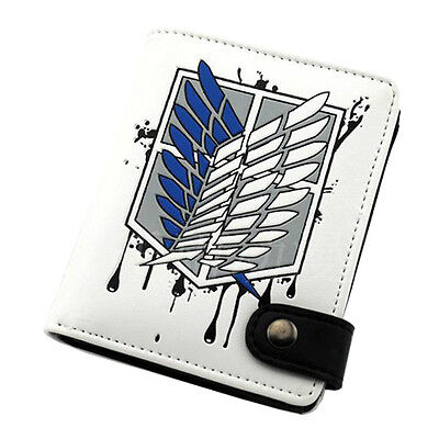 Anime Attack On Titan Wallet Purse Cosplay Accessory Bag Collectible Toy Gift • 5.99£