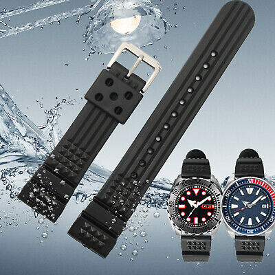 For New Watch Parts Waterproof Silicone Watch Strap With Metal Buckle Parts • 8.08£