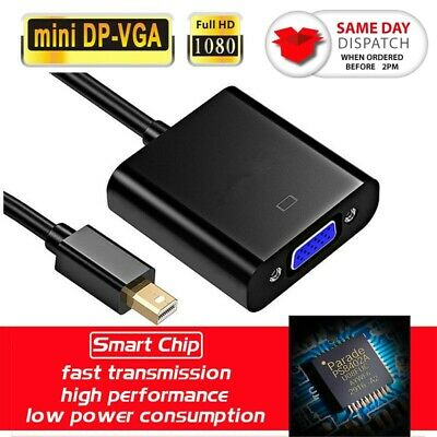 Mini Display Port DP To HDMI Adapter Thunderbolt Cable For Macbook Pro PC Laptop • 2.99£