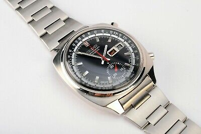 $ CDN1146.69 • Buy Rare Vintage Seiko 6139-6022 Day Date Chronograph Automatic S.Steel Watch