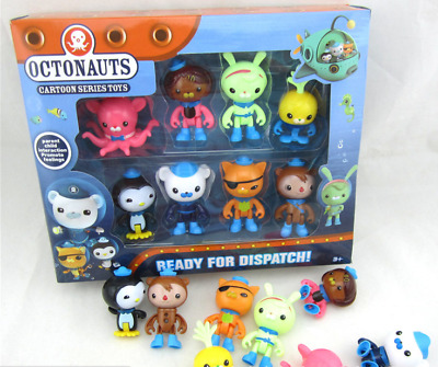 £12.99 • Buy 8PC Octonauts Expedition Action Figure Kid Childrens Toy Doll Gift Collection