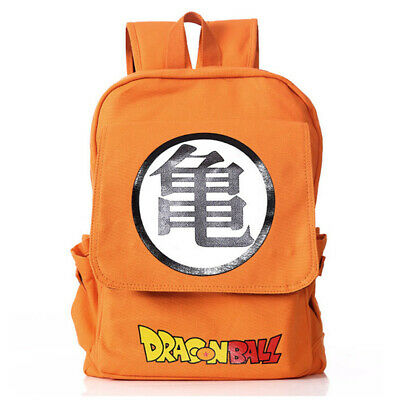 Anime Dragonball Z Canvas Backpack Shoulder Bag School Bag Cosplay Prop Gift • 18.99£