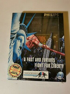 Chaos Control - A Fast And Furious Fight For Liberty - Big Box - Pc Cd Rom Game • 30£