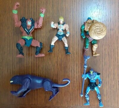 $15 • Buy He-Man Masters Of The Universe 200x Action Figure 2001 Mattel - Lot Of 5