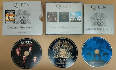 Queen - The Platinum Collection - Greatest Hits I,II & III - CD Boxset • 7£