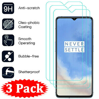 AU5.14 • Buy 3Pcs For OnePlus 7T 7 6T 6 5T 5 3 3T HD 9H Tempered Glass Screen Protector Film