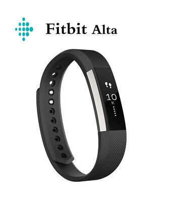 $ CDN75.76 • Buy NEW Fitbit Alta Fitness Wristband Activity Tracker Black FB406BKS Small Large