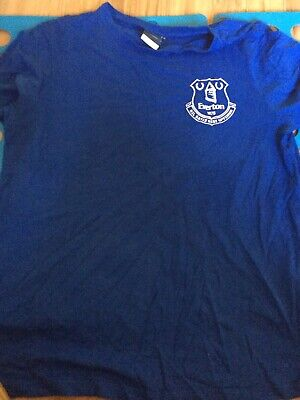 Everton FC - Blue T-Shirt - Large • 10£