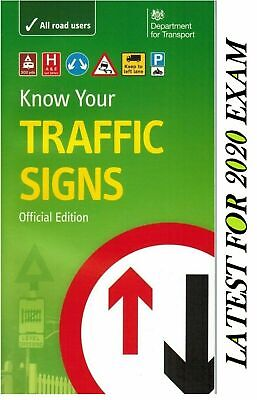 £6.69 • Buy Know Your Traffic Signs Book Driving Skills Transport Paperback Theory Test Road