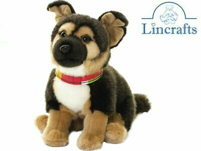 German Shepherd AN525 Plush Soft Toy Dog. Living Nature Sold By Lincrafts 23cm  • 19.99£