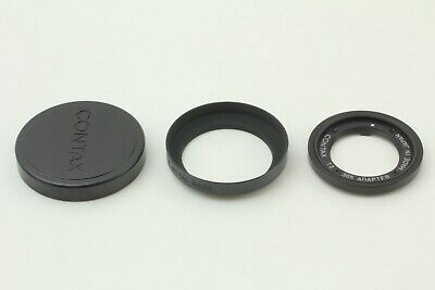 $ CDN375.95 • Buy [Top Mint All Black] Contax T3 30.5 Adapter Hood  K-34 Lens Cap JAPAN #234