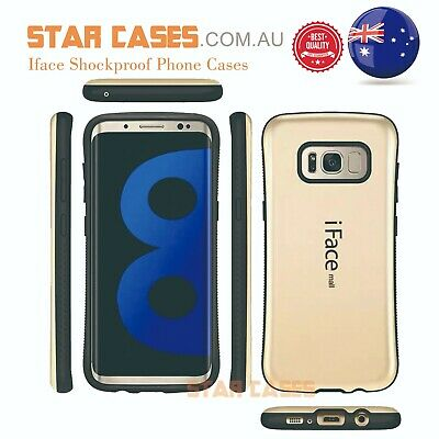 AU5.99 • Buy For Samsung S8 S9 Plus Glossy Rubber Bumper Heavy Duty Shockproof Case Cover