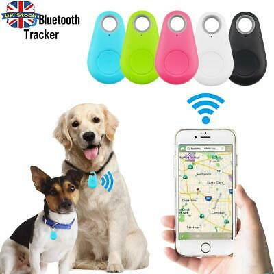 Pet Dog Bluetooth Tracker Wireless Key Finder Alarm Wallet Child GPS Locator Tag • 3.98£