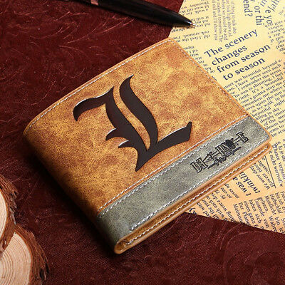 Anime Death Note L Wallet Purse Folder Cosplay Accessory Prop Bag Toy Gift Boy • 6.99£