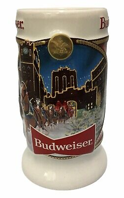 $ CDN38.62 • Buy 2020 Budweiser Holiday Stein From Annual Christmas Series LATEST NEW BEER MUG!!