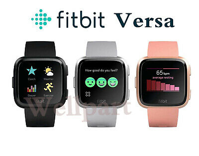 $ CDN100.88 • Buy Fitbit Versa Smart Watch Fitness Activity Tracker New Box With L&S Band