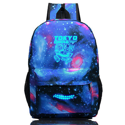 Anime Tokyo Ghoul Canvas Backpack Shoulder Bag School Bag Cosplay Prop Gift • 13.99£