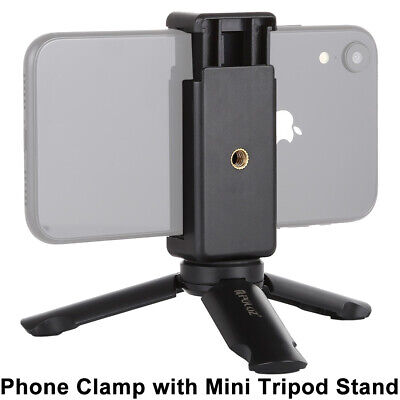 Universal Mini Mobile Phone Tripod Stand Grip Holder Mount For IPhone Samsung • 5.19£