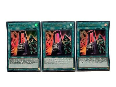 AU23 • Buy Yugioh Card Of Demise - Playset (x3) - DUPO-EN050 - Ultra Rare - 1st Edition