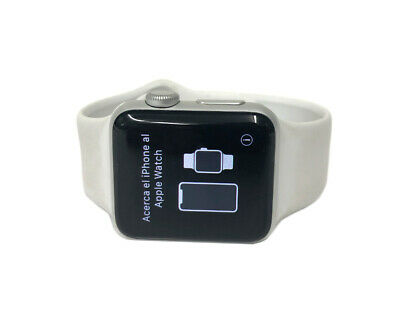 $ CDN207.24 • Buy Apple Watch Series 3 38 Mm Silver Aluminum Case White Sport Band Smartwatch